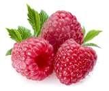 30 - Frambuesa - Frutas y verduras rojas  Fitoquímico: lycopene, antocianinas, flavonoides, ácido oleico.  Se encuentran en el tomate, frambuesa, toronja roja, sandia, manzana roja, pimiento rojo, cerezas, uvas rojas, toronja rosada o roja y fresas.  Beneficios  Ayuda a la prevención de cáncer de mama, próstata y ovario. Enfermedades del corazón. Ayuda a los síntomas del síndrome pre-menstrual.
