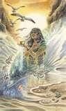 35 - CAVILLACA. Joven diosa de la costa central.