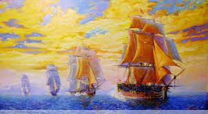 15 -  A Sarmiento de Gamboa lo nombró capitán de una de las naves y cosmógrafo y a Pedro de Ortega capitán de la otra.