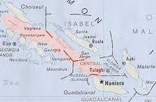 18 - El 7 de febrero de 1568 la expedición llegó a la primera de las islas del archipiélago la que fue bautizada con el nombre de Isla de Santa Isabel. Durante un año exploraron la infinidad de islas del archipiélago en busca de oro.