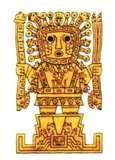 33 - WIRACOCHA. Dios todo poderoso creador de todas las cosas de la naturaleza y las leyes divinas y terrenales.