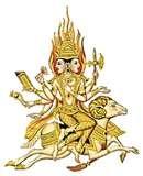 22 - En la literatura oriental el escrito base de la India el Rig-Veda, que es el compendio de la ciencia en forma de himnos sagrados, las vacas son representadas metafóricamente como nubes.