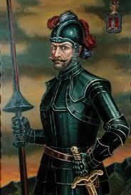 146 – (1536) Sebastián de Belalcázar funda en Colombia las ciudades de Popayán y Cali.  Sebastián de Belalcázar o Benalcázar (Belalcázar (España 1480 - Cartagena de Indias, 1551), adelantado, conquistador español. Su nombre original era Sebastián Moyano, y cambió su apellido debido a que era oriundo de la población de Belalcázar (o Benalcázar), situada en Córdoba. El apellido Belalcázar está formado de las palabras árabes ben y alcázar que equivalen 'hijo del castillo' o 'hijo de la fortaleza'.
