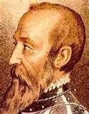 48 - (1534 - 1 de Septiembre) La expedición de don Pedro de Mendoza se dirige hacia el Río de la Plata, está compuesta por catorce buques y tripuladas por más de dos mil hombres.