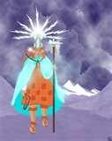 36 - MAMA CHASKA. Diosa Estrella.