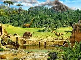 (17) 97 a 66 millones de años (aC) - Plantas con floración dominan la tierra durante el período Cretáceo tardío. Entre ellas se encuentra los antepasados de la cebada. De vez en cuando ocurre un experimento natural. Unas semillas caen en un charco y germinan. Levaduras ambientales caen en la charca y metabolizan los azúcares produciendo alcohol. Por tanto, existía cerveza en el planeta antes de la aparición del hombre.