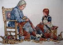 """19 - Muchos años más tarde, Rosa Lemoline le contaría, a una de sus nietas, lo que recordaba de esa noche: """"Juanita Tudor estaba en el centro del salón, de frente a la portada, cuando entré con el doctor Grass""""."""