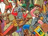 110 – (1536 - 5 de Septiembre) Un ejército rebelde inca, a ordenes de Quizo Yupanqui, llega a las puertas de Lima, sostienen varios encuentros con los españoles: en Mama (cerca de Chosica), en Huarco (o Cañete), en Mala, Chancay y Ate.