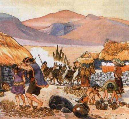Resultado de imagen para papa imperio inca