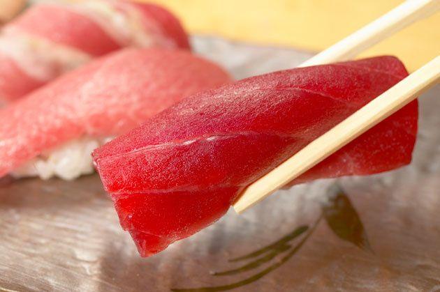 10 - El sushi tradicional es de atún