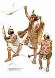 099 – (1536 – Abril) Manco Inca y sus capitanes juran en el pueblo de Calca luchar hasta la muerte para echar a los españoles del Perú.