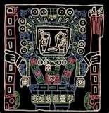 27 - KON, EL DIOS DEL MAR. En el norte del Perú, se le atribuye al dios Kon, la creación de todos los peces de la tierra. En la ciudad Chimú de Chan-Chan, se conservan frisos que muestran la gran cantidad de especies del mar.